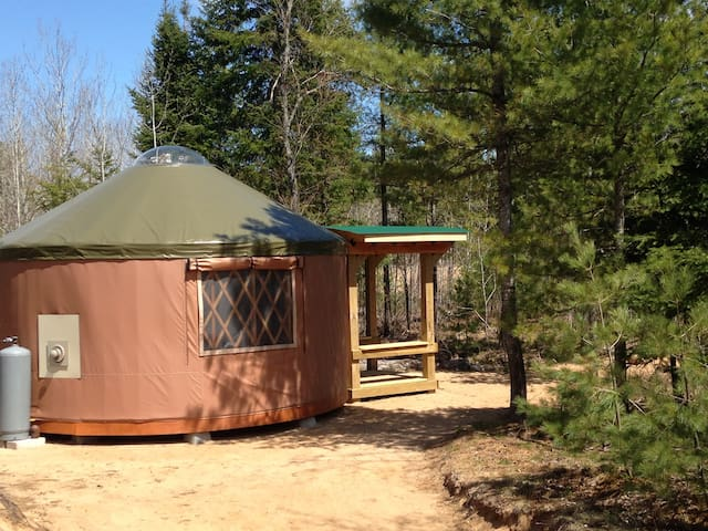 Yurt & Tiny Cabin-Pet Friendly, Remote, Dark Sky