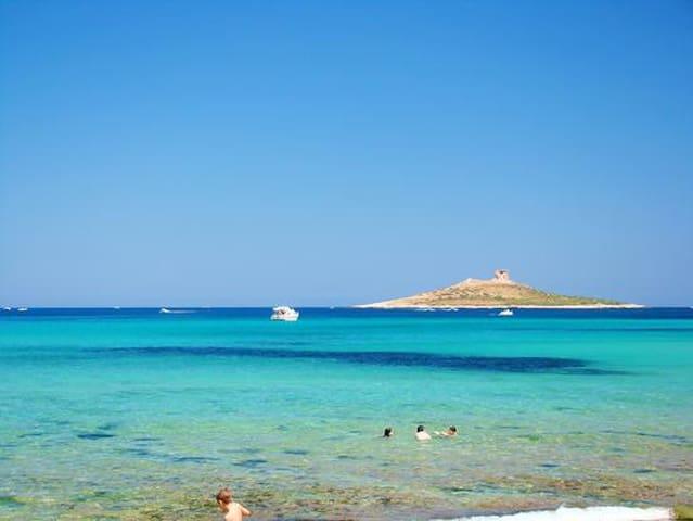 Villa Isola, sea & relax- surf, kitesurf, skate - 이졸라 델레 페미네 - 휴가용 별장