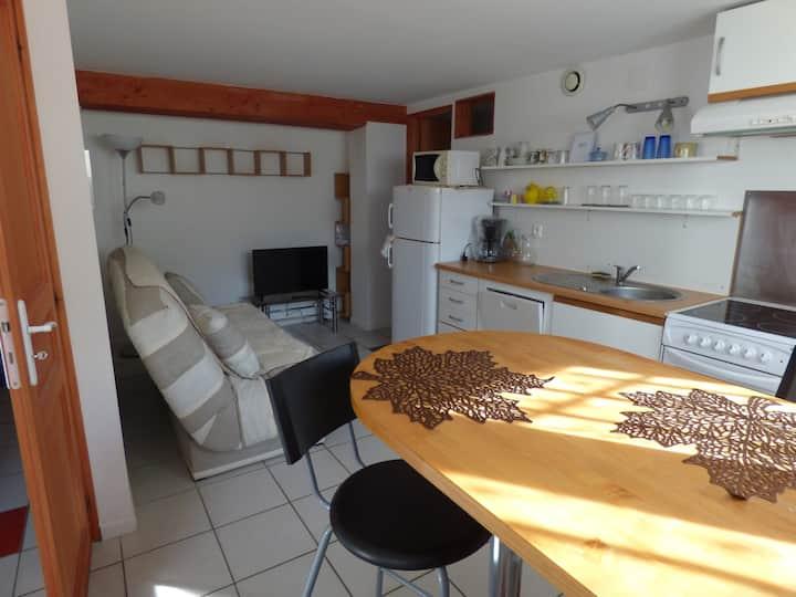 Appartement indépendant 35m² avec terrasse/jardin