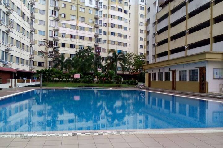 Fully Furnished Studio Apartment near Bukit Jalil