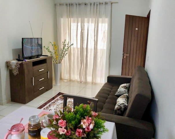 Apartamento Novo Acolhedor