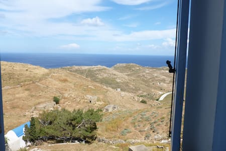 Welcoming place, astonishing view - Serifos - Haus