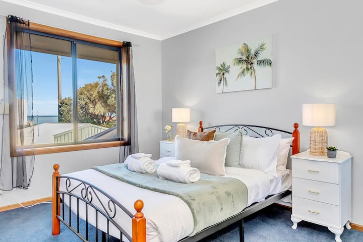 A fifth bedroom can be found upstairs and comes furnished with  double bed, quality linen and charming decor