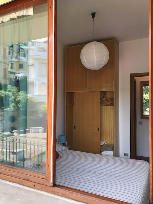 vista camera dal balcone