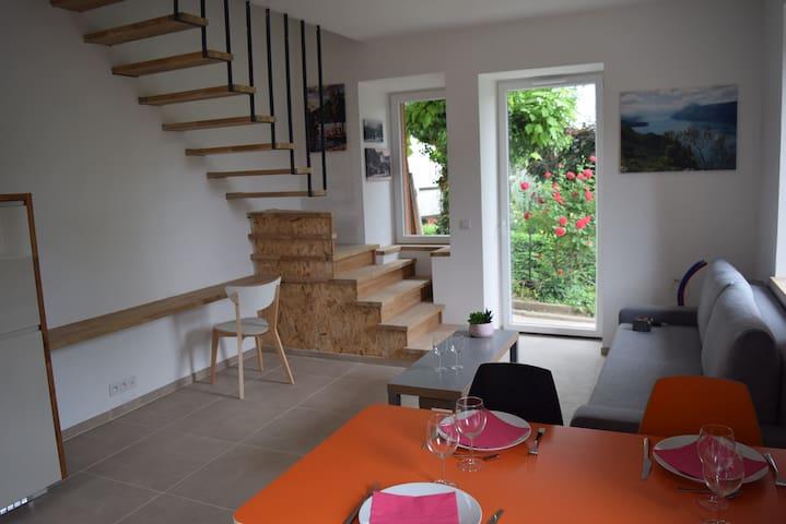 Duplex 48m²  avec parking et jardin