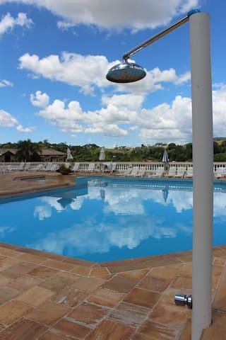 Cidade da Saúde - Serra Negra - Obsługiwany apartament