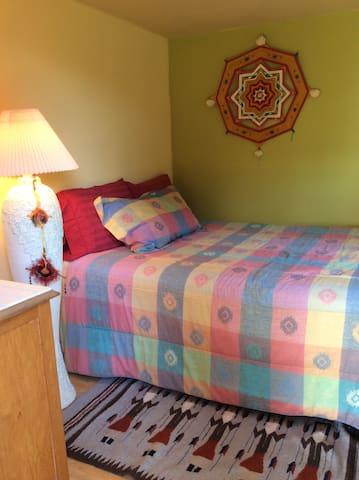 The Corner bedroom.
