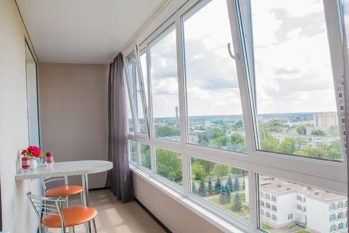 1 ком.с панорамным видом квартира в Брянске