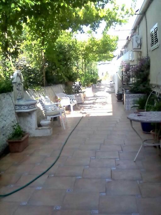 patio commun