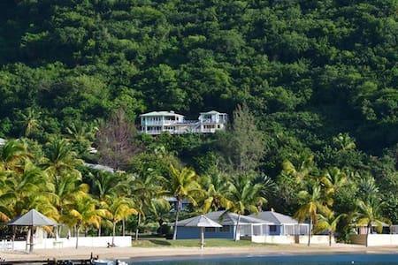 Calypso Villa Galleon Beach 2mins walk