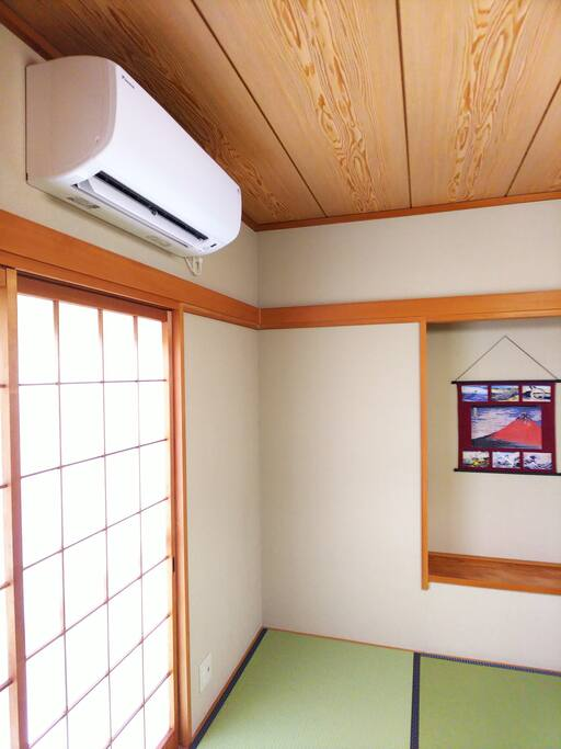Airconditioner inTraditional style room