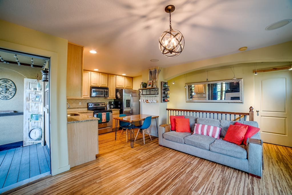 Living Room & Patio Entrance