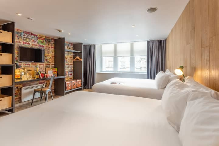 The Grassmarket Hotel, Comfy + Quad Room