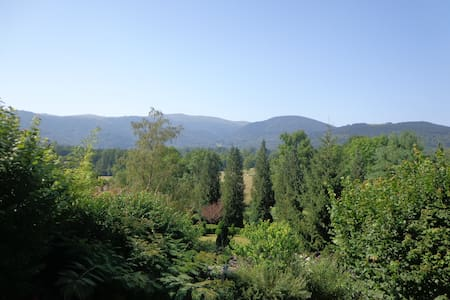 Quiet in nature facing mountains 2-English Español - Serres-sur-Arget - Pension