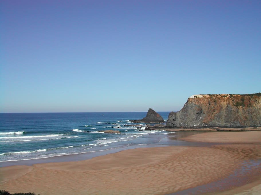 Praia de odeceixe Odeceixe beach