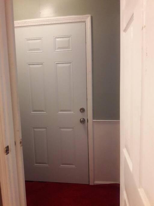 Private door entry