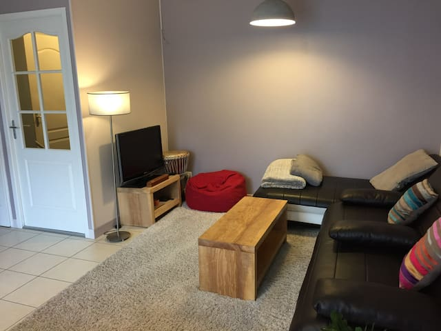T2 65m² avec jolie terrasse proche gare - Bourgoin-Jallieu - Apartment