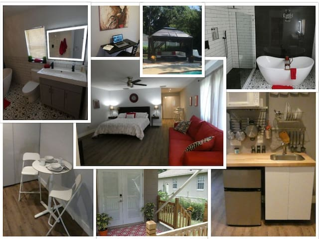 Beautiful, Modern, Private.  Orlando/Altamonte!