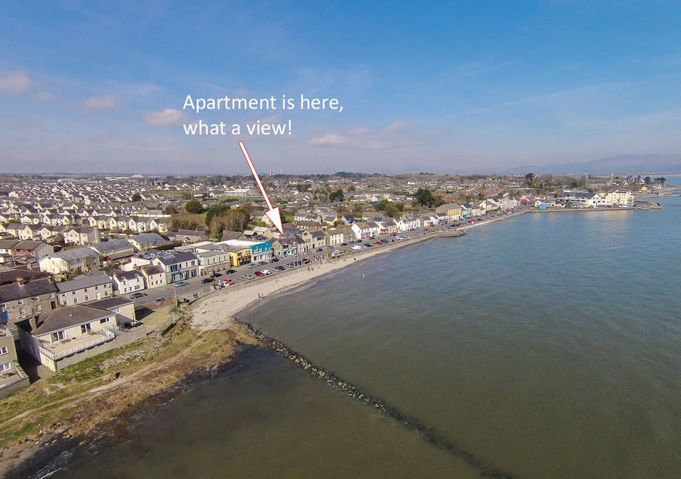 Beautiful beachfront location