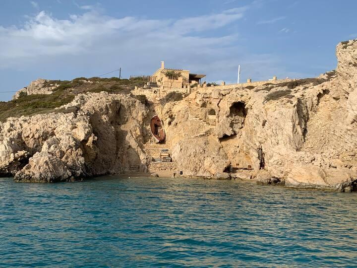 Prometheus Sea Cabin with Private beach