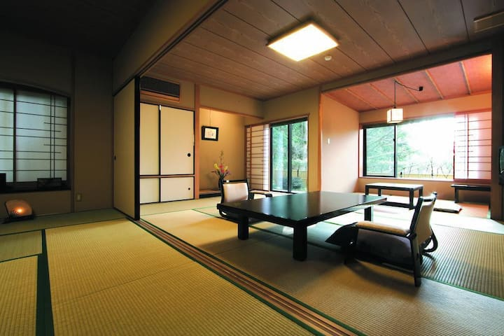 Heartfelt Hospitality at a first-class Hot Spring Ryokan Hotel in Hakone【From 2 pax】【With meal】箱根の一流温泉旅館で心からのおもてなし【2名様~】