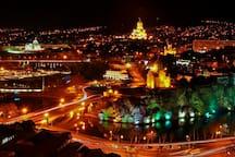 Tbilisi, city center