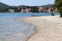 beach Slano 200 meters from the house