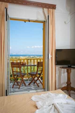 Double Garden & Sea View - Naousa - Inap sarapan