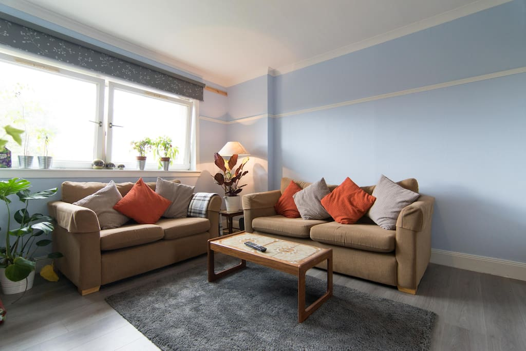 Our welcoming lounge room is there for you to relax in any time!