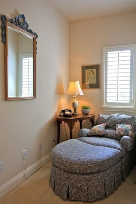 Upstairs Reading Nook