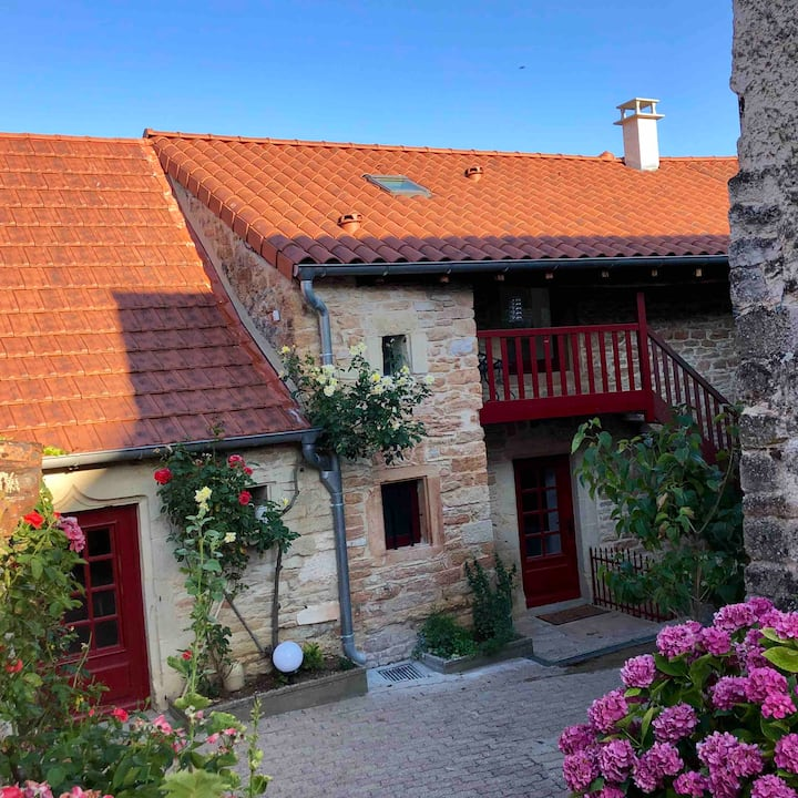 Gîte de la Moinette - A 50 m du Château d'Aine