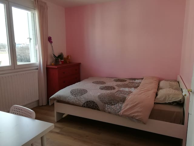 One New Beautiful Bedroom