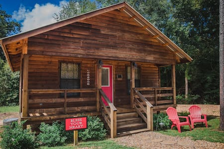 """""""Bless Your Heart"""" - The Cabins at Brookside"""