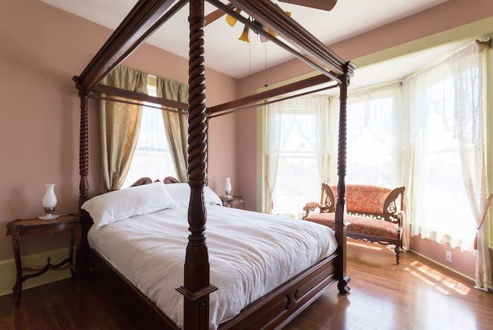 Victorian Fairytale Master Bed and Bath