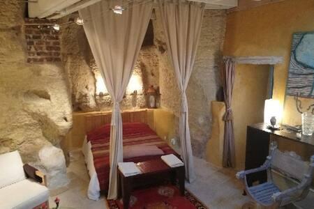Appartement Loft Troglodyte  indépendant