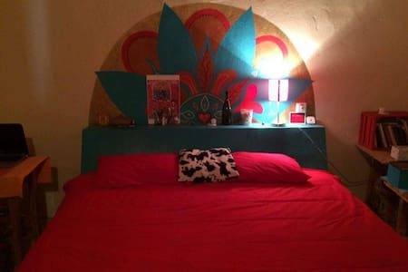 Cozy room with king size bed - Sayulita - Casa
