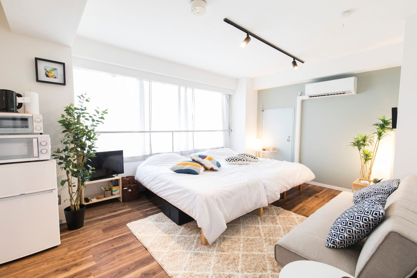 Sunny clean and Renovated Unit