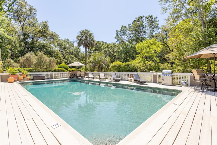 Kiawah Island Home w/ Pool - 4 bedroom /4 bath