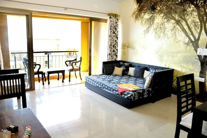 Lavasa City - Spacious 1 BHK Lake View Apartment
