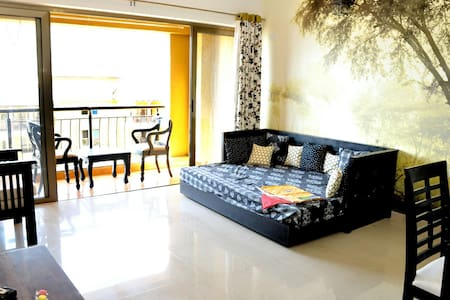 Air Conditioned Spacious 1 BHK Lake View Apartment