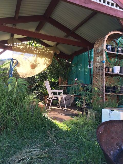 Light Footprint Hippy Haven double room