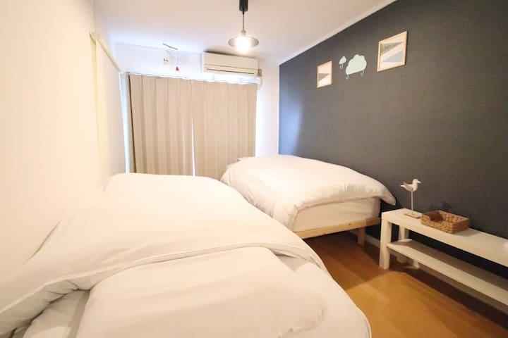 「AMP FLAT Tenjin」503号室 5Min from Tenjin Station