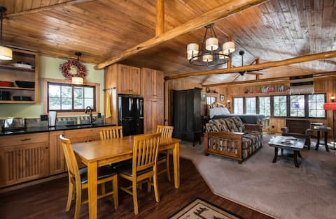 Experience a Renovated Vintage 1921 Cabin.  #3119