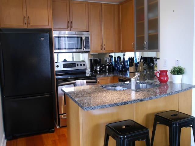 Executive 2BR Condo in Yorkville - Free Parking!