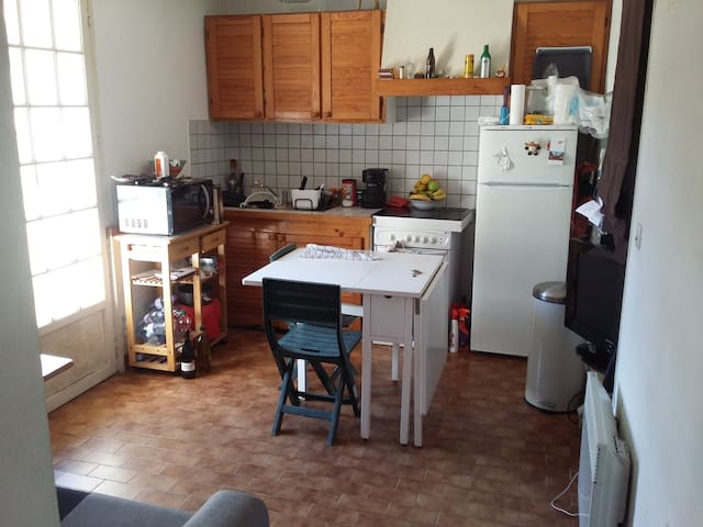 Chambre privée,barbecue,transat. - saint gely du fesc - Pis