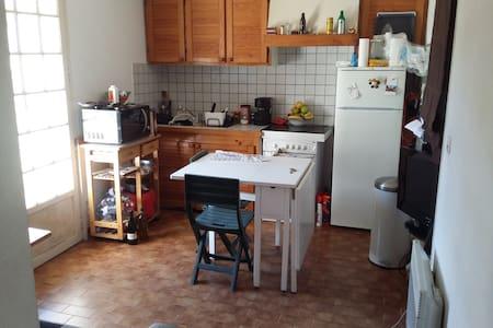 Chambre privée,barbecue,transat. - saint gely du fesc