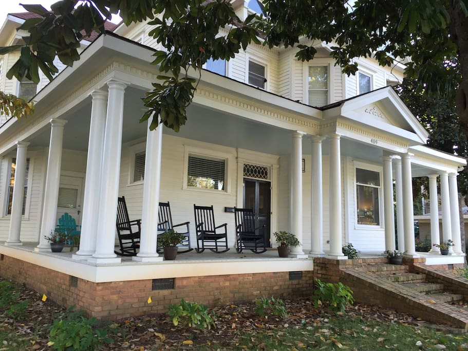 Historic West End Victorian Houses For Rent In Greenville South Carolina United States