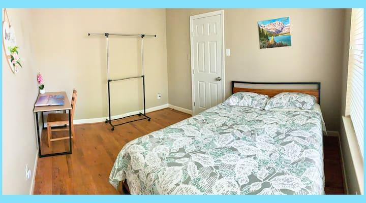 Private Room6 Clean Bright@Safe community Plano