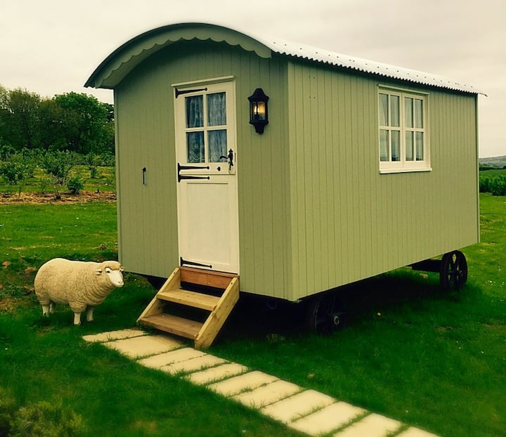 Sidmouth Shepherds Hut with Spectacular Views