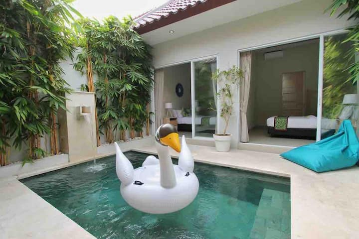 Promo two Bedroom private pool near Canggu